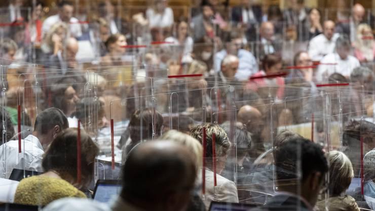 Der Nationalrat debattierte am Mittwoch über das neue Coronagesetz.