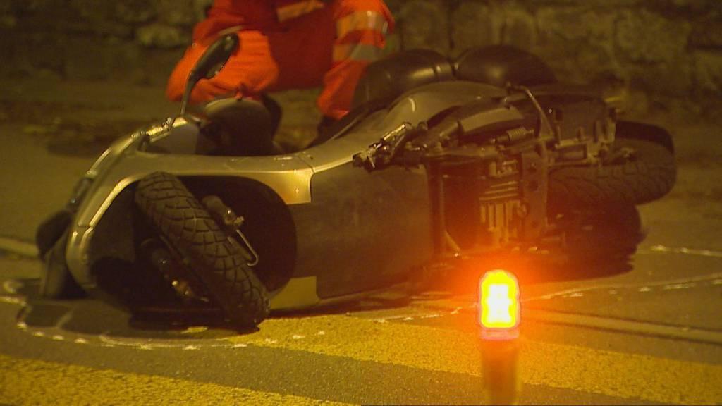 Töffunfall in Männedorf: 27-Jähriger schwer verletzt