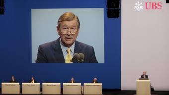 Die UBS will ihren Ex-Präsidenten trotz Verfehlungen nicht beklangen
