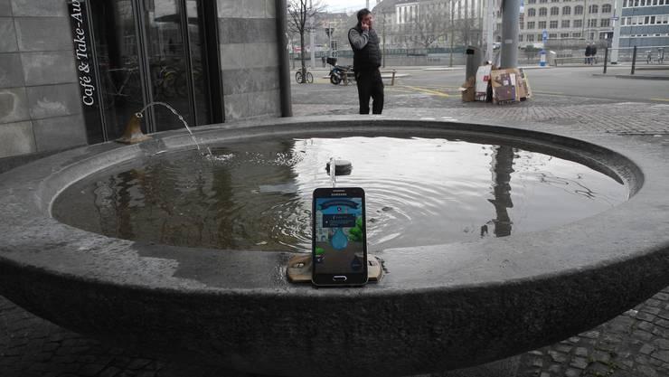 Die gestern lancierte Brunnen-App macht einem laufend bewusst, wie dicht versorgt Zürichs Altstadt mit Brunnen ist, vom Central...