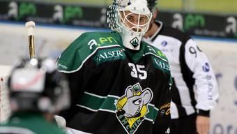 EHCO-Goalie Matthias Mischler wird gegen Ajoie wieder spielen.