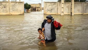 Hochwasser haben im Iran in den letzten Wochen Dutzende von Toten gefordert. (Archivbild)