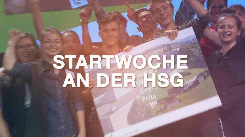 Startwoche an der HSG