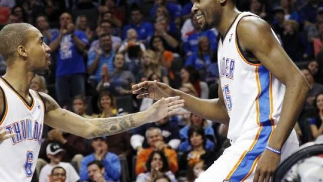 Kevin Durant buchte 35 Punkte für Oklahoma City Thunder
