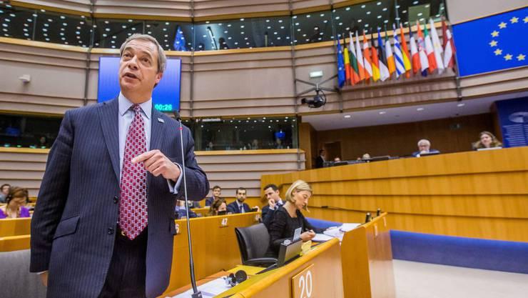 Das FBI nimmt Nigel Farage unter die Lupe. (Archiv)