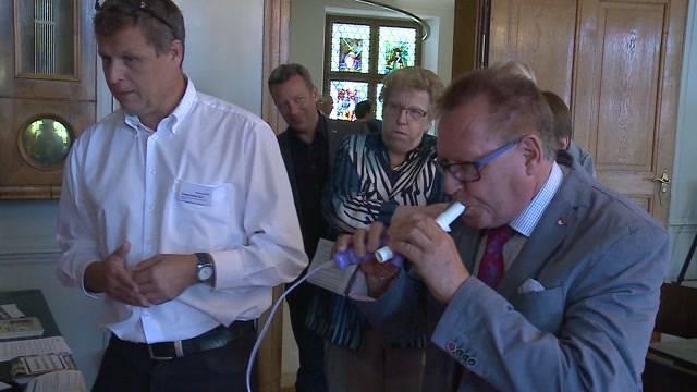 Lungentest im Solothurner Kantonsrat