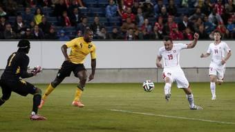 Die Schweiz schlägt Jamaika im WM-Test mit 1:0