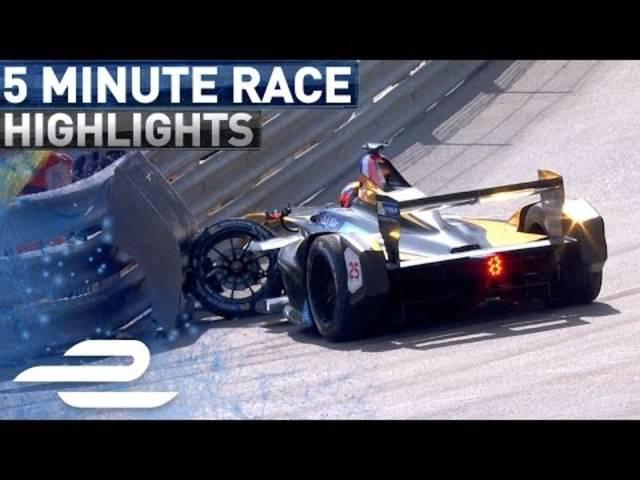 Monaco ePrix Race Highlights 2017 - Formula E