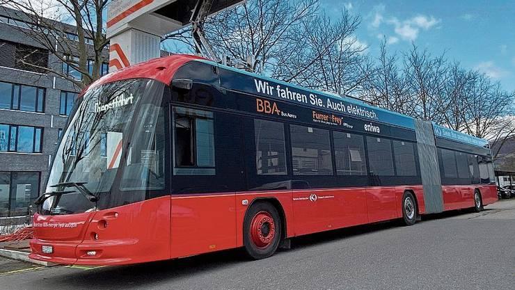 Für den neuen Bus hat die BBA eine Ladestation gebaut.