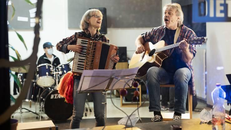 Ein eingespieltes Duo: Heidi Christen und Stefan Baier aus Dietikon.