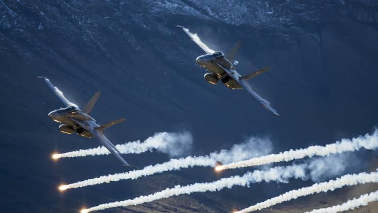 Die F/A-18 der Schweizer Luftwaffe sind in die Jahre gekommen.