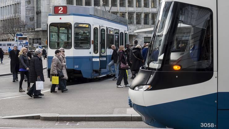 Weniger verletzte VBZ-Passagiere im Jahr 2015