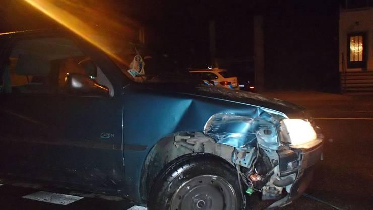 Bis das Auto schlapp machte fuhr der Angetrunkene weiter.