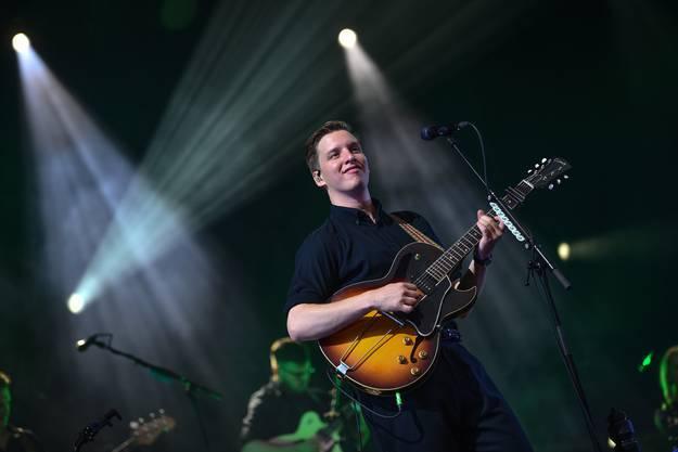 George Ezra am Stimmen-Festival.