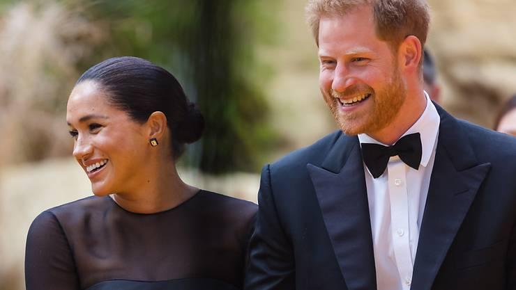 """Die Ehefrau von Prinz Harry, Herzogin Meghan, hat für die britische Modezeitschrift """"Vogue"""" als Gast-Chefredakteurin gearbeitet. (Archivbild)"""