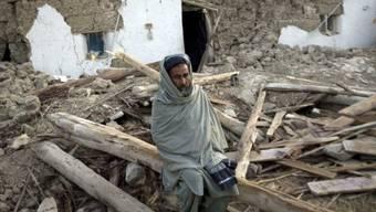 Grosse Schäden nach Beben 2008 in Belutschistan