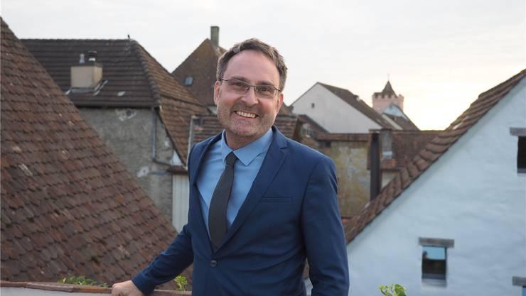 «Mit Prävention kann man viel mit wenig Geld erreichen»: Michael Derrer auf seiner Terrasse in Rheinfelden. Thomas Wehrli