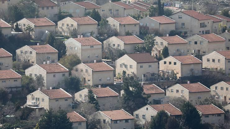 Die jüdische Siedlung Ofra im Westjordanland. (Archivbild)