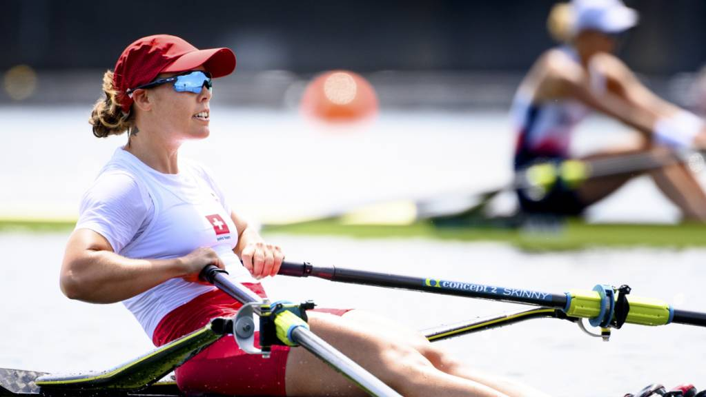 Jeannine Gmelin hält an den Olympischen Spielen in Tokio Kurs.