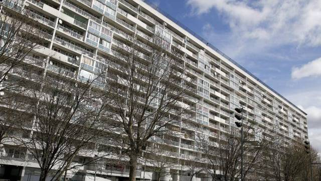 Komplex mit 300 Wohnungen: Die Kinder wuchsen dort auf
