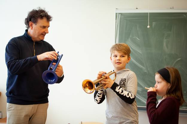 Trompete, Matthias Merki  Fotos: KLFotografie