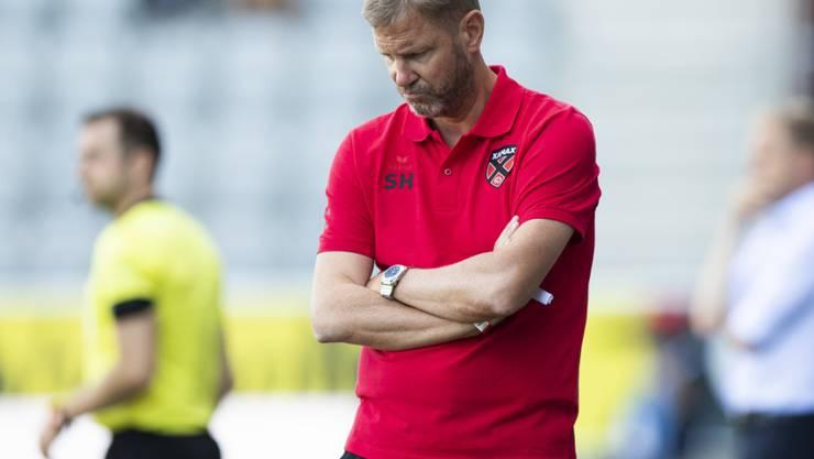 Im Team von Stéphane Henchoz wurde ein Spieler positiv getestet