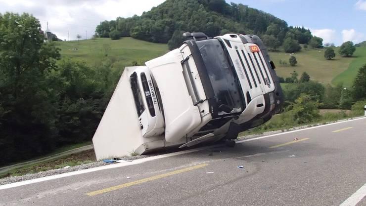 Lastwagen Unfall