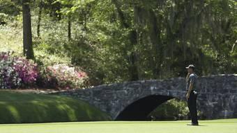 Tiger Woods - endlich wieder auf dem legendären Platz in Augusta