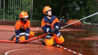 Feuerwehrwettkampf in Brugg