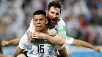 Impressionen zum Gruppenspiel Nigeria - Argentinien