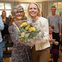 © Partei-Co-Präsidentin Therese Dietiker (links) und Nationalrät