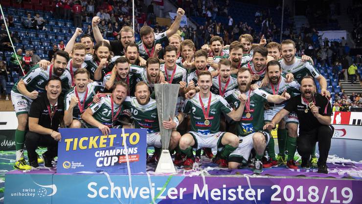 Wiler-Ersigen feiert den 12. Meistertitel.