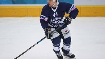 Nick Plastino schoss den ersten Treffer für Ambri-Piotta in der Champions Hockey League (Archivbild)