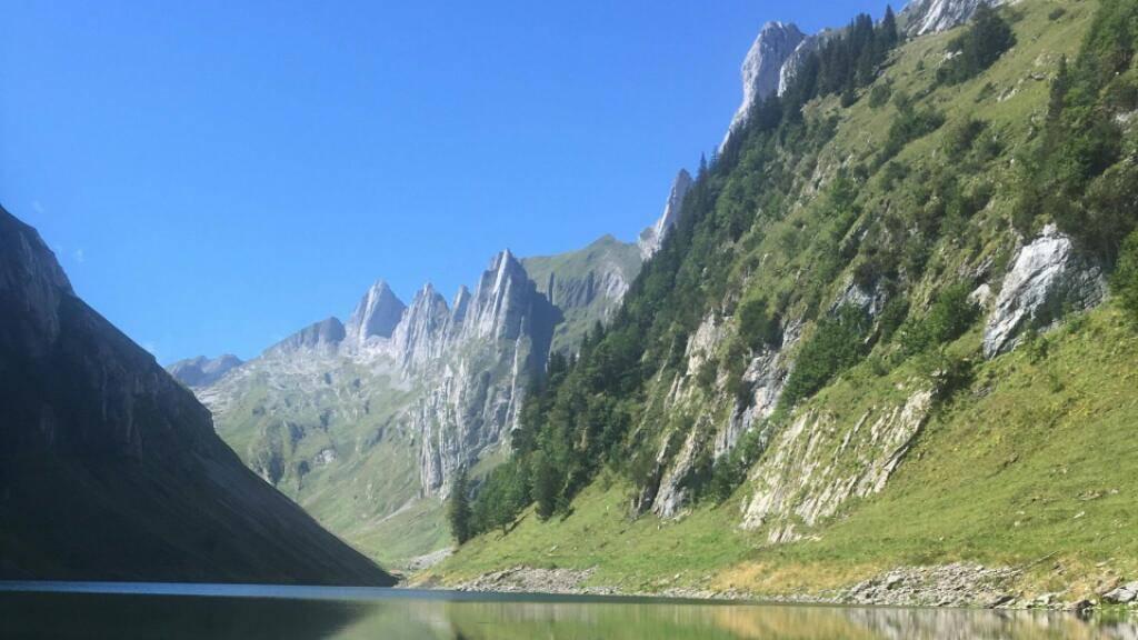 Sorgenkind Fählensee: Der Bergsee am Alpstein hat von Natur aus einen erhöhten Nährstoffgehalt. Dieser limitiert den Lebensraum von Fischen und anderen Gewässerbewohnern.