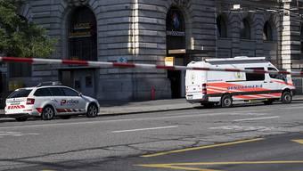 Polizeieinsatz nach tödlichem Unfall in Lausanne: Auf einem Fussgängerstreifen sterben zwei Personen. (Symbolbild)