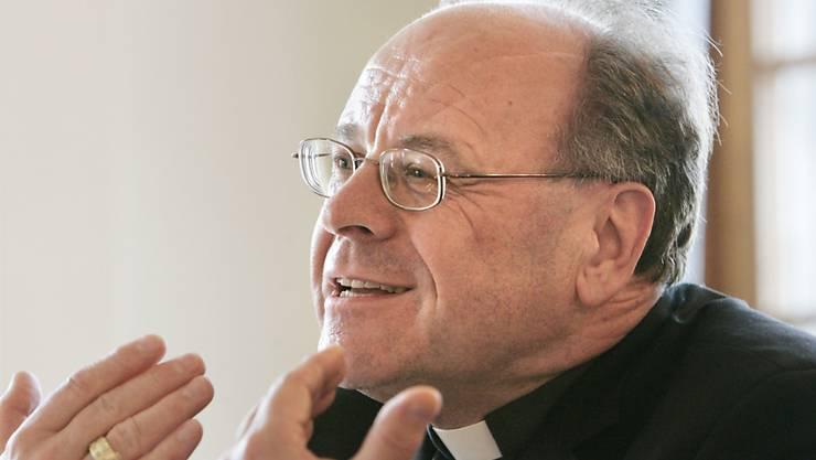 Könnte nach seiner Zeit als Bischof von Chur noch einige Zeit als Apostolischer Administrator in Chur bleiben: Vitus Huonder (Archiv).