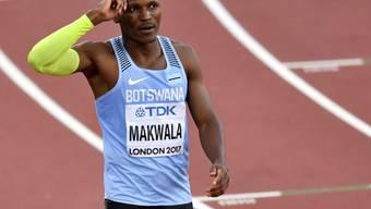 Botswanas Top-Athlet Isaac Makwala ist nach seinem Startverbot frustriert