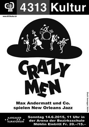 Flyer Crazy Men