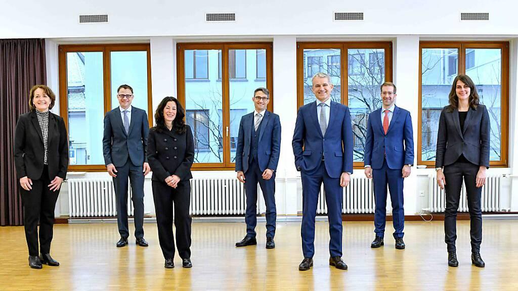Departementsverteilung des Basler Regierungsrats ohne Überraschung