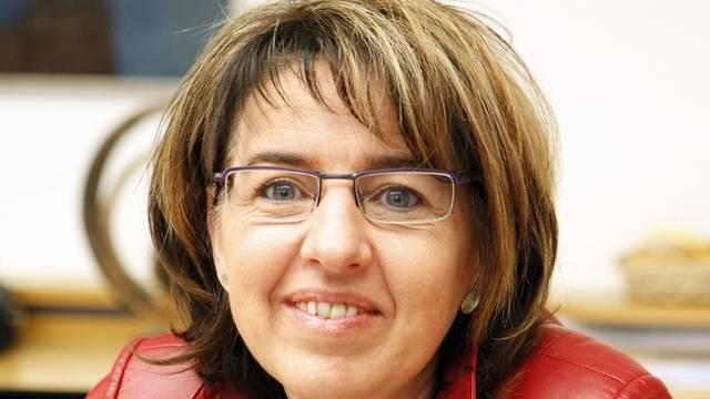 Die jurassische Regierungsrätin Elisabeth Baume-Schneider tritt vor die Medien (Archiv)