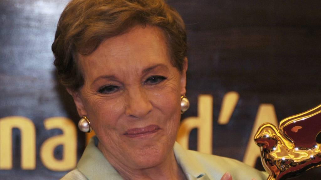 Oscar-Preisträgerin Julie Andrews wird für ihr Lebenswerk geehrt