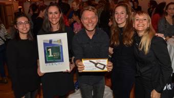 Die Sieger vom Büro Spreng (von links): Meret Hammel, Chiara Tempel, Sven Spreng, Eliane Wehrli, Katrin Olin.