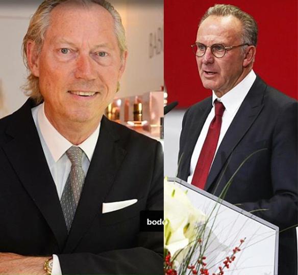 Werner Mang und Karl-Heinz Rummenigge (Bild: Instagram)