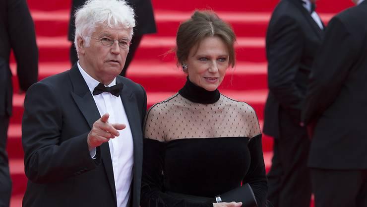 Jean-Jacques Annaud und Jacqueline Bisset am Filmfestival in Moskau