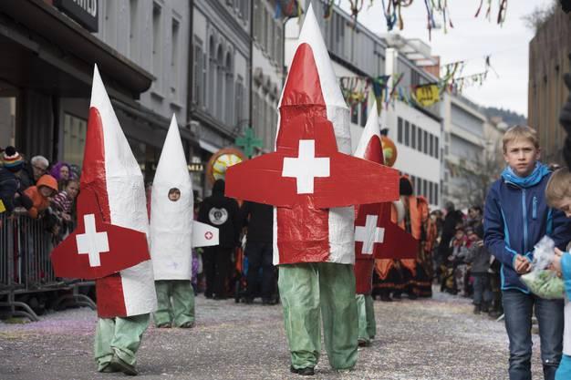Melanie Heim, Patrouille Suisse. Badener Fasnachtsumzug, Badener Fasnacht, 26. Februar 2017
