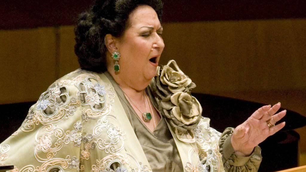 Die spanische Starsopranistin Montserrat Caballé starb im Alter von 85 Jahren. (Archivbild)