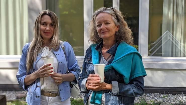 Ein Gespräch mit der Moderatorin Yvonne Brogle und Teilnehmerin Mariya Yatsyshyn.