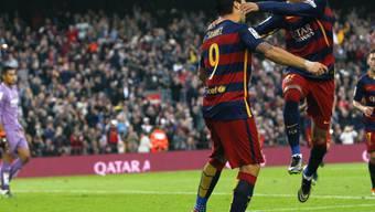 Neymar (rechts) und Luis Suarez spielten gross auf