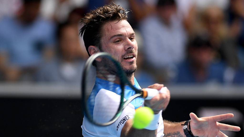 Stan Wawrinka beim Australian Open.