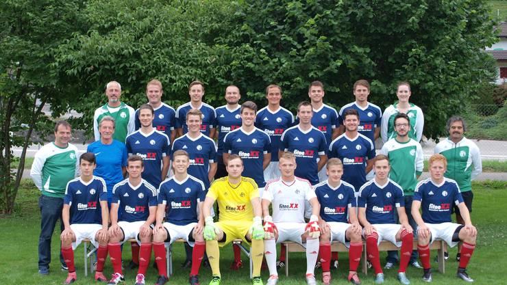 1. Mannschaft FC Mümliswil, Saison 2016/17